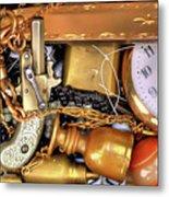 Boyhood Treasures 2 Metal Print by Lawrence Christopher