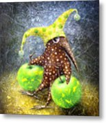 Breakfast On The Grass Metal Print by Lolita Bronzini