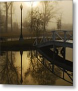 Bridge Over Still Waters Metal Print by Wayne Archer