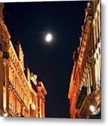 Bright Moon In Paris Metal Print by Elena Elisseeva