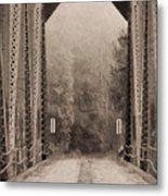 Brooklyn Bridge Metal Print by JC Findley