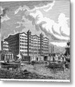 Brooklyn: Sugar Refinery Metal Print by Granger