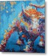 Bull Market X Metal Print by John Henne