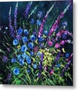 Bunch Of Wild Flowers Metal Print by Pol Ledent