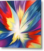 Burst Of Joy Metal Print by Lucy Arnold