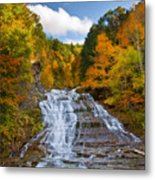 Buttermilk Falls 2 Metal Print by Mark Papke