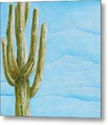 Cactus Jack Metal Print by Joseph Palotas