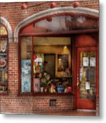 Cafe - Westfield Nj - Tutti Baci Cafe Metal Print by Mike Savad