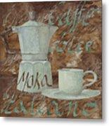 Caffe Espresso Metal Print by Guido Borelli