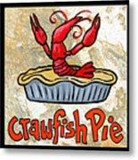 Cajun Food Trio Metal Print by Elaine Hodges