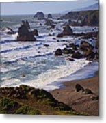 California Coast Sonoma Metal Print by Garry Gay