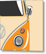 Camper Orange 2 Metal Print by Michael Tompsett
