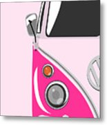 Camper Pink Metal Print by Michael Tompsett