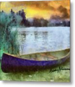 Canoe Metal Print by Anthony Caruso