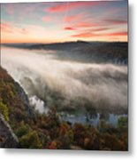 Canyon Of Mists Metal Print by Evgeni Dinev