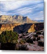 Canyon Walls At Toroweap Metal Print by Kathy McClure