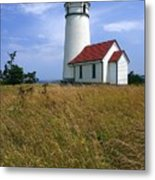 Cape Blanco Light Metal Print by Winston Rockwell