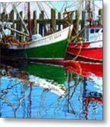 Cape Cod Paintings  Metal Print by Michael Cranford