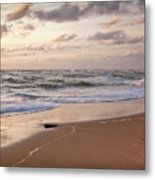 Cape Cod Sunrise 1 Metal Print by Susan Cole Kelly