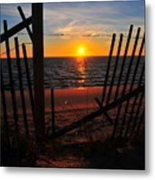 Cape Cod Sunset Metal Print by Catherine Reusch  Daley