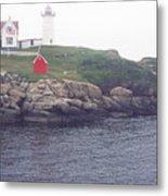 Cape Neddick Lighthouse Metal Print by Thomas R Fletcher