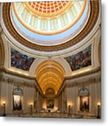 Capitol Interior II Metal Print by Ricky Barnard