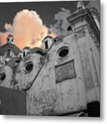 Capri Church Metal Print by Jim Wright