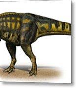 Carcharodontosaurus Iguidensis Metal Print by Sergey Krasovskiy