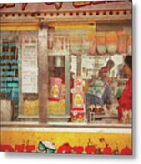Carnival - The Candy Shack Metal Print by Mike Savad