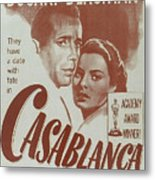 Casablanca Metal Print by Georgia Fowler