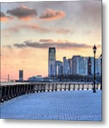 Castle Point V Metal Print by JC Findley