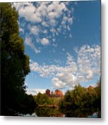 Cathedral Rock One Metal Print by David Sunfellow