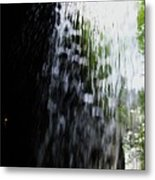 Cavern Cascade Watkins Glen Metal Print by InTheSane DotCom