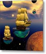 Celestial Armada Metal Print by Claude McCoy