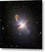 Centaurus A Black Hole Metal Print by Nasa