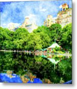 Central Park Metal Print by Julie Lueders