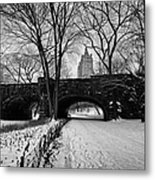 Central Park West And The San Remo Building  Metal Print by John Farnan
