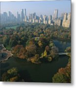 Central Parks Bethesda Fountain Metal Print by Melissa Farlow