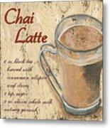 Chai Latte Metal Print by Debbie DeWitt