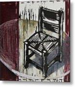 Chair Vi Metal Print by Peter Allan