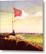 Chapman Fort Sumter Flag Metal Print by Granger