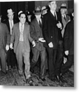 Charles Lucky Luciano In Center Metal Print by Everett
