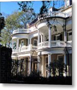 Charlestons Beautiful Architecure Metal Print by Susanne Van Hulst
