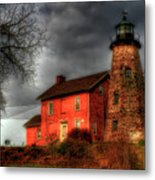 Charlotte-genesee Lighthouse  Metal Print by Joel Witmeyer