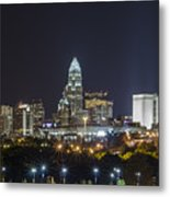 Charlotte Night Metal Print by Brian Young