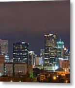 Charlotte Skyline 2012 Metal Print by Brian Young