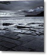 Checkerboard Squares Metal Print by Mike  Dawson
