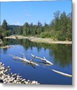 Chehalis River Washington Metal Print by Laurie Kidd