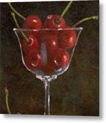 Cherries Jubilee Metal Print by Sheryl Heatherly Hawkins