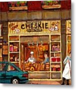 Cheskies Hamishe Bakery Metal Print by Carole Spandau
